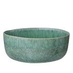 Large Round Serving Bowl - Grass Green
