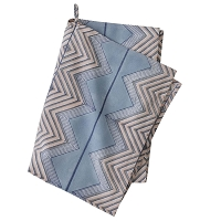 Tea Towel -  Alisha Sky Blue