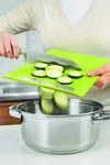 Slim Straight To Pan Chopping Board - Small