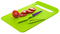 Slim Straight To Pan Chopping Board - Large