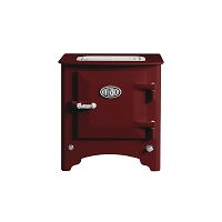 Everhot Electric Stove - Burgundy
