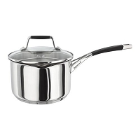 Stellar Induction Draining Saucepan - 18cm