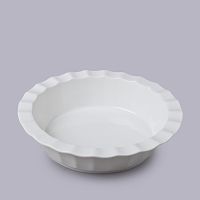 Deep Crinkle Pie Dish - Large