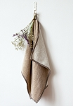 Linen Terry Towel - Natural