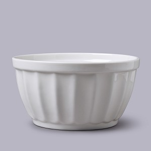 Fluted Pudding Bowl - Medium