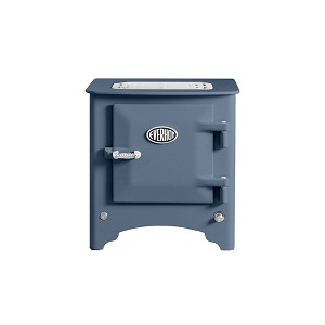 Everhot Electric Stove - Dusky Blue